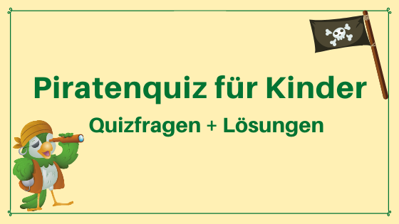Piratenquiz Kinder